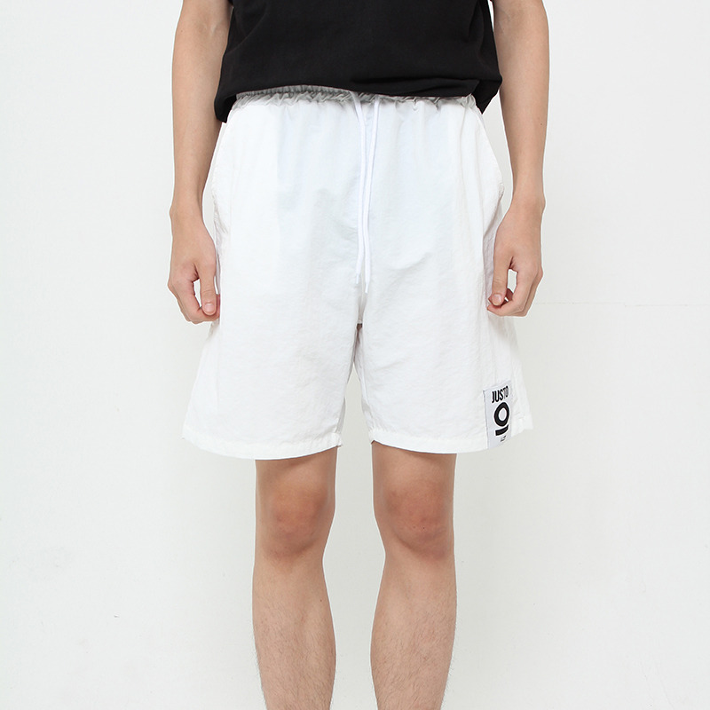 JUSTO POCKETPRINT HALFPANTS[WHITE]