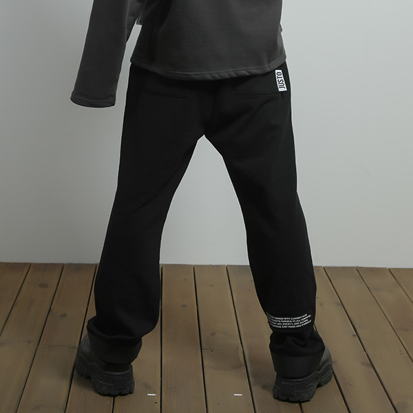 JUSTO velcro pants[black]
