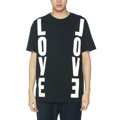 LOVE LOVE T-SHIRTS [BLACK]