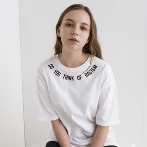 """All size restock"" ANTIRACISM T-SHIRTS[WHITE]"