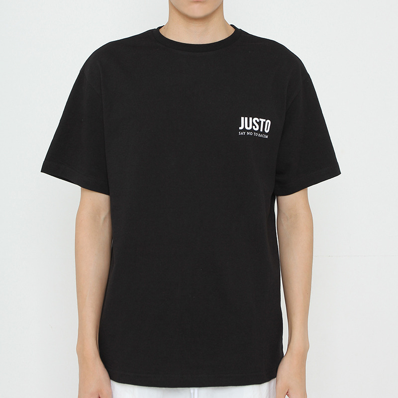 JUSTO POLICE ARREST T-SHIRTS[BLACK]